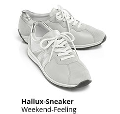 Hallux-Sneaker Weekend-Feeling